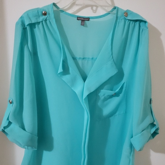 Charlotte Russe Tops - Charlotte Russe 100% Polyester shirt